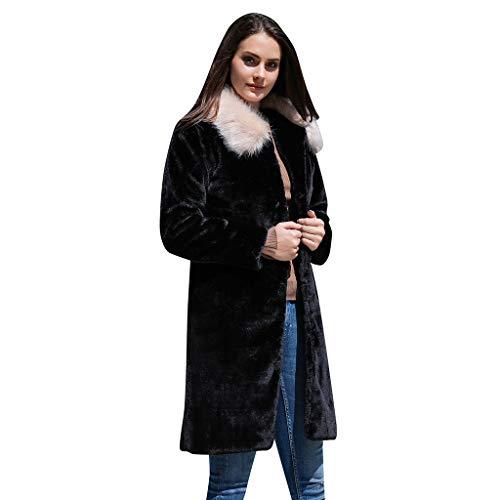 Haughtily Frauen Plüsch Kunstpelz Turn-down Taschen Strickjacke Mantel Patchwork Langarm Plus Size Beiläufige Lose Jacke Outwear -