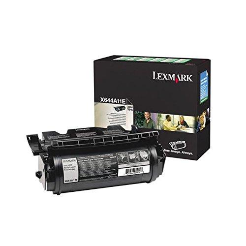 Preisvergleich Produktbild Lexmark X644A11E X642e, X644e, X646e Tonerkartusche schwarz 10.000 Seiten Rückgabe