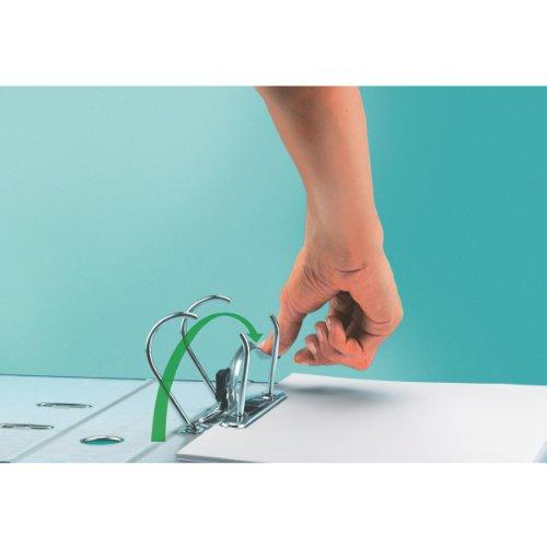 Leitz 11160089 Multifunktions-Ordner (A4, Abgerundeter Rücken 8,2 cm Breite, Gummibandverschluss, Kunststoff, Active Urban Chic) dunkelgrau - 8