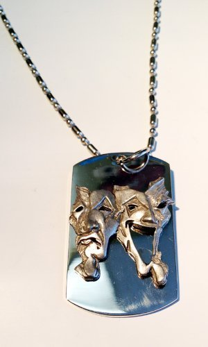 happy-sad-theater-theatrical-mask-pewter-emblem-logo-symbols-military-dog-tag-luggage-tag-key-chain-