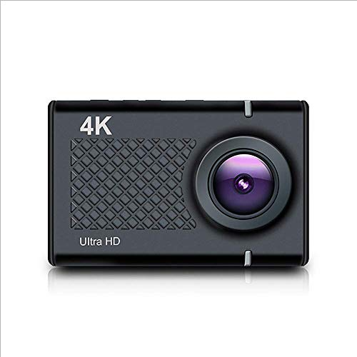 4 Karat Sport Action Kamera Ultra HD 4 Karat / 30Fps 16MP WiFi Helm Kamera Mit LCD Touchscreen Sprachsteuerung (Schwarz)