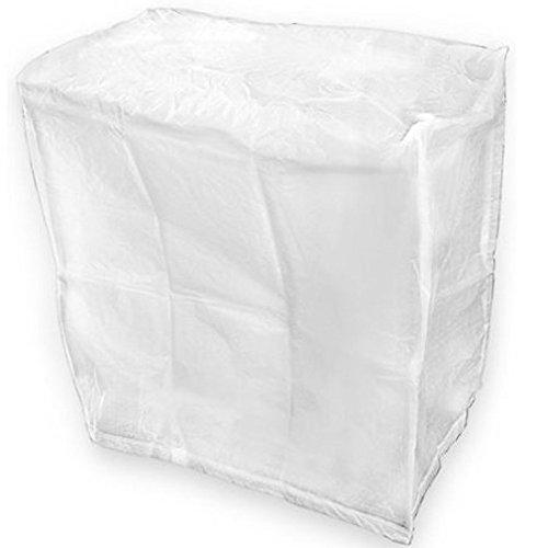 Housse de protection pour barbecue 80 x 45 x 80 cm de couverture 80x45x80 cm blanc