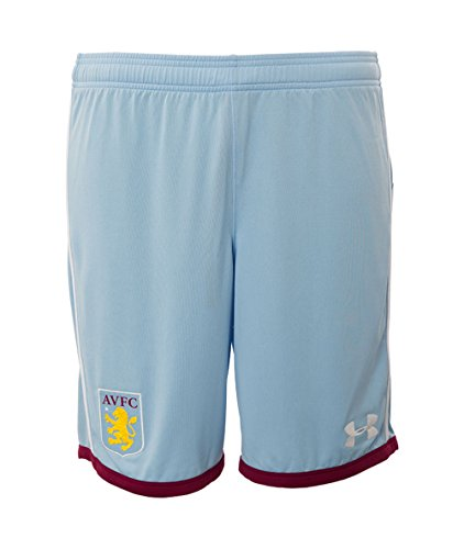 Under Armour Herren Fussball Aston Villa Away Shorts Sport Kurz Hose 2016-17 Lila - S (Aston Hose)