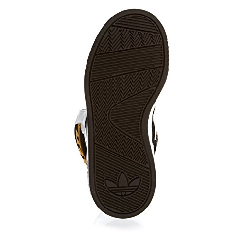 adidas OriginalsCourt Attitude K - Sneaker Unisex - Bambini Bianco (Blanc (Ftwbla/Noiess/Stsoli))