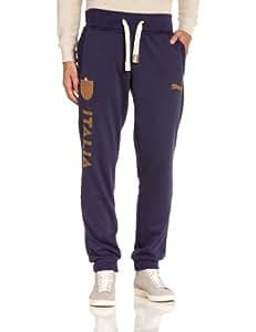 Puma FIGC Italia T7 Cuffed Pantalon homme Peacoat FR : 50/52 (Taille Fabricant : XL)