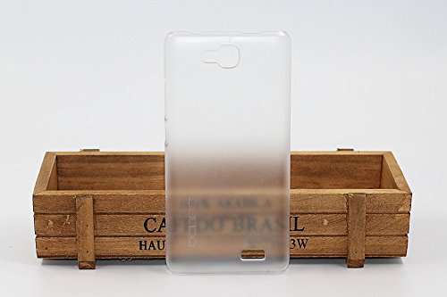Crystal Edel Plastik Kunststoff Transparent Cover Schutzhülle für Oukitel C3 Smartphone Tasche Hülle Etui Case