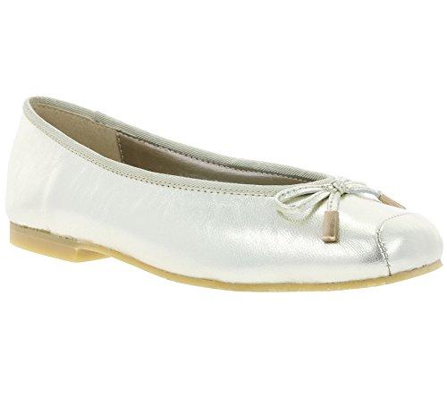 Sapatos De Andrea Real 34131 Chinelo Bailarina Ouro Metálicos Conti Mulheres Couro Sapatos awfwUqT1