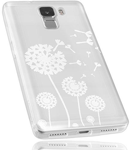 mumbi Schutzhülle Huawei Honor 7 Hülle im Pusteblume Design