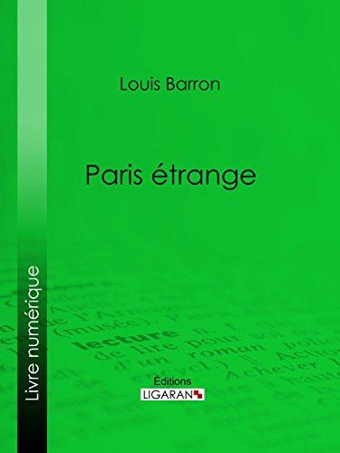 Paris étrange
