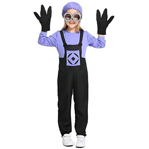 kter Cos Kleidung Eltern-Kind-Kostüm Halloween Kinderkleidung,Purple,M ()