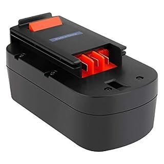 Exmate Ni-MH 18V 3500mAh Replacement Battery for Black&Decker 244760-00 A1718 A18 HPB18 HPB18-OPE Firestorm A18 FS180BX FS18BX FS18FL FSB18