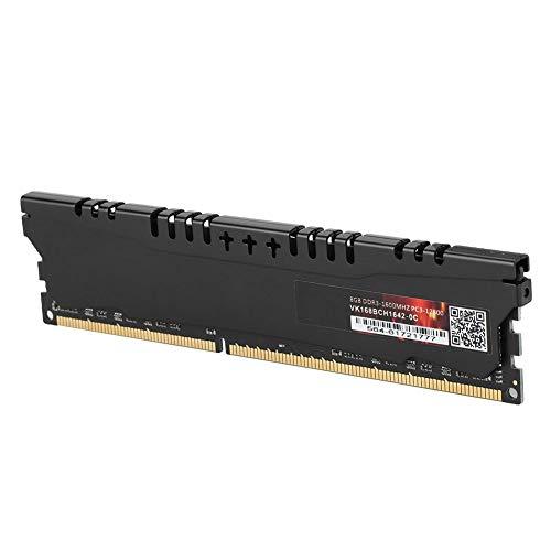 Acouto DDR3-Arbeitsspeicher, 8 GB DDR3-Arbeitsspeicher mit hoher Kapazität, 1600 MHz Schnelle Datenübertragung DDR3-Arbeitsspeicher für RAM-Speicher des Desktop-Computers DDR3-Arbeitsspeicher