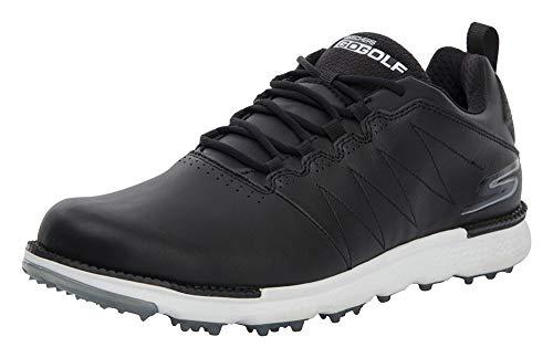 Skechers Hommes Golf Elite V3 - Chaussures de Golf en Cuir - Étanches 54523 Black/White 10.5UK
