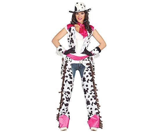 Imagen de disfraz vaquera para mujer talla l = 42 44