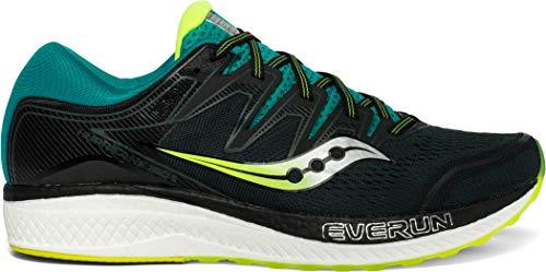 Saucony Hurricane ISO 5 Schuhe Herren Green/Teal Schuhgröße US 9,5 | EU 43 2019 Laufsport Schuhe Green Hurricane