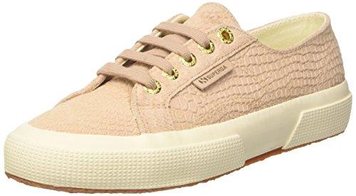 SUPERGA Women's 2750-fglanacondaw Trainer Shoes - Pink (Nude) , 5.5 UK