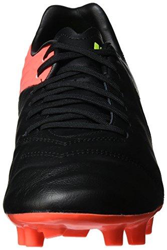 Nike 819236-018, Scarpe da Calcio Uomo Nero (Black/white-hyper Orange-volt)