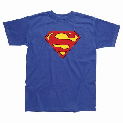 Spike Superman Logo T-Shirt, Size- L