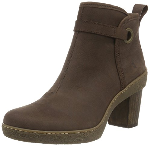 El Naturalista Nf71 Pleasant Brown / Lichen, Bottes Femme Marron (BROWN N12)