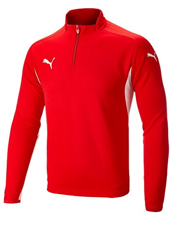Puma 1/4 Zip Golf Pullover Red Large