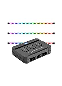 Thermaltake LUMI Color 256C 3-Pack RGB Magnetic LED Strip Control Pack AC-037-LN1NAN-A1