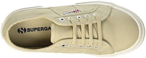 Superga  2750-Jcot Classic, Pompes à plateforme plate Unisexe - enfant Gris - Grigio (Taupe)