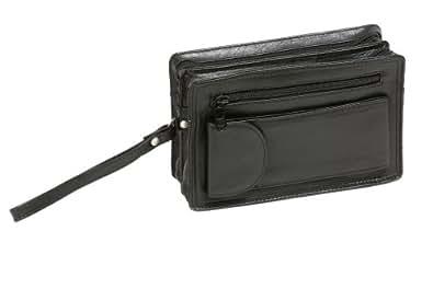 Herrentasche aus Rindleder LEAS in Echt-Leder, schwarz - LEAS Men's Bags