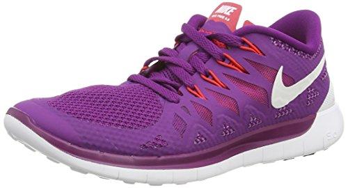 Nike Wmns Free 5.0 Women (642199-501), Bright purple/White/Red,