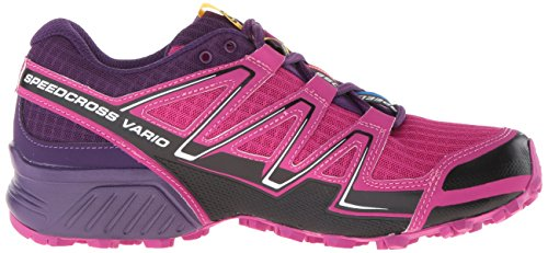 Salomon Speedcross Vario, Chaussures de trail femme Deep Dalhia/Black/Cosmic Purple