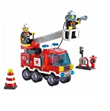 #9: Fun Growth Store Different Combinations !! 130pcs/set Fire Fighting Truck DIY Building Blocks Educational Puzzle Toys