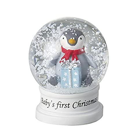 Penguin Snow Globe Baby's First Christmas