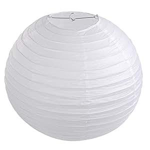 lihao 16 wei e papier laterne lampion rund lampenschirm hochtzeit party dekoration ballform. Black Bedroom Furniture Sets. Home Design Ideas