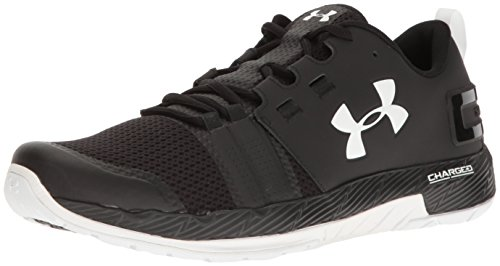 Under Armour Ua Commit Tr Herren Outdoor Fitnessschuhe, Black / White, 42.5 EU