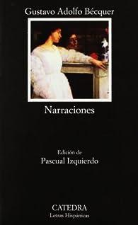 Narraciones par Gustavo Adolfo Bécquer