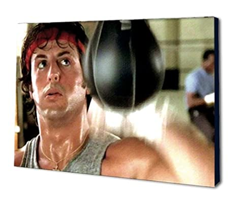 Rocky Balboa Pop Art Leinwand 61x 40,6cm