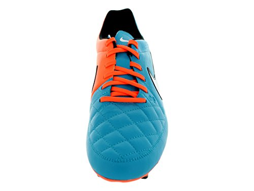 Nike Tiempo Genio Leather FG Homme Chaussures de Football Blau
