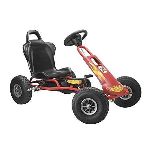 """Ferbedo - 5733 - Kart """"Air Runner AR-1"""" avec roue libre- Rouge"""