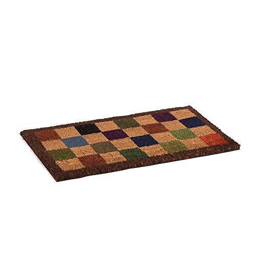 Catral 71070052 Felpudo de Coco Chess