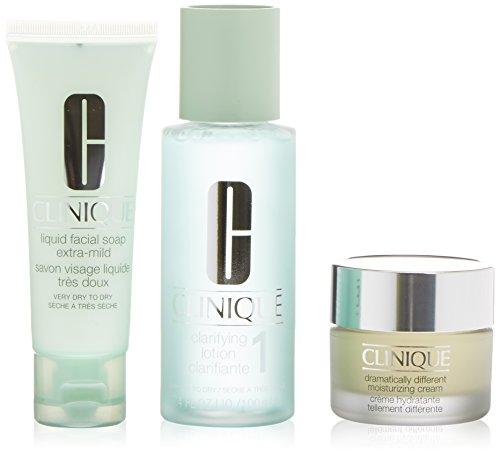 clinique-soin-facial-savon-liquide-lotion-creme-hydratante-180-ml