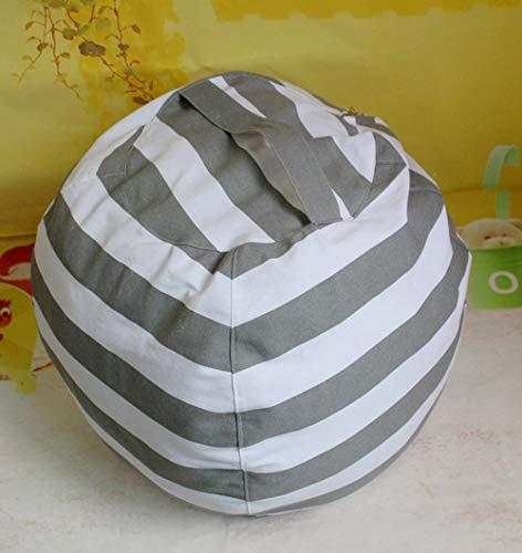 Timstore Gefüllte Tierablage Bean Bag Chair - Stuff 'n Sit Organisation für Kinder Spielzeug Lagerung, 3St Kleine Aufbewahrungsbox (Farbe : T2, Size : Small)