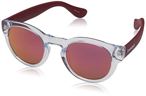 Havaianas Unisex-Erwachsene TRANCOSO/M VQ 22K 49 Sonnenbrille, Rot (Cry Burgundy Grey)