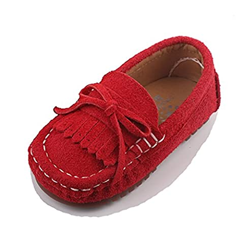 Eagsouni® Kid's casual tassel Penny Loafers Moccasins Boat Shoes Flats