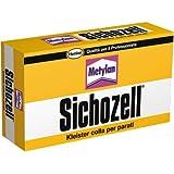 Metylan Gr. 125–Colle 'Sichozell kleister' Sticker en poudre à préparation rapide et à haut rendement pour chaque type de papier de parati. ne résiste à la calce. rendue pour peint normales 40m² avec une boîte, pour peint lourds 30m².