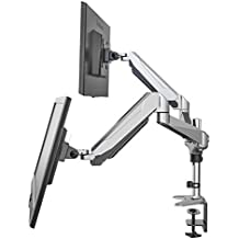 "Eono Essentials Dual Monitor Desk Mount for 15""-27"" Screens"
