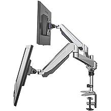 "Eono by Amazon - Dual Monitor Desk Mount for 15""-27"" Screens"