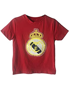 CAMISETA LENTEJUELAS REAL MADRID