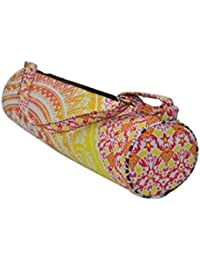 Generic SSHE Handicraft Women's Ladies Yoga Bag Handmade (Multi-Color)