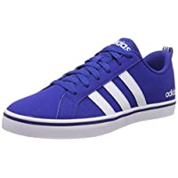 Adidas VS PACE, Men's Basketball Shoes, White (Collegiate Royal/Ftwr White/Core Black), 9 UK, (43 1/3 EU),F34611