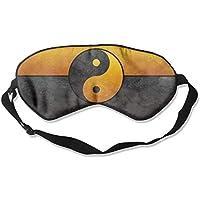 Yin Yang Gold Sleep Eyes Masks - Comfortable Sleeping Mask Eye Cover For Travelling Night Noon Nap Mediation Yoga preisvergleich bei billige-tabletten.eu