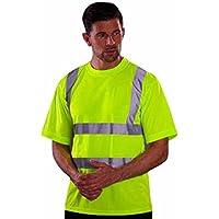 YOKO-Maglietta di sicurezza a maniche corte, in colori fluo-HVJ410, unisex